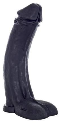 Черный фаллоимитатор-гигант Мистер Большой 45 см