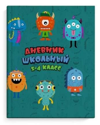 Дневник школьный 1-4 класс ВЕСЕЛЫЕ МОНСТРИКИ