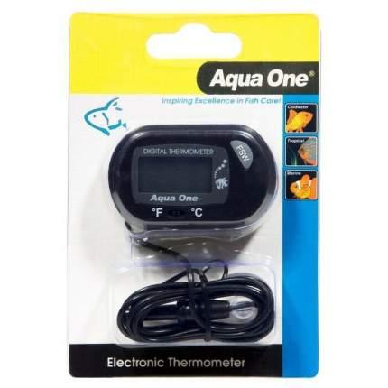 Термометр для аквариума Aqua One ST 3 LCD Electronic электр. внешний, с погружным датчиком