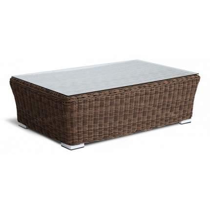 Журнальный столик 4sis Капучино YH-S4133W 110х66х30 см, коричневый