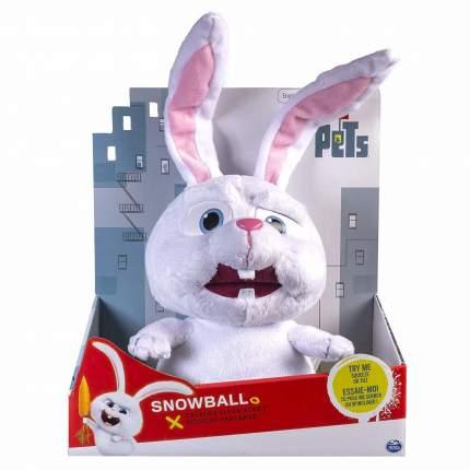 Игрушка Кролик Beanie Babie toys Снежок говорящий из Тайная жизнь домашних животных B013M