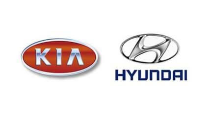 Наклейка значений давления шин Hyundai-KIA  05203B2210