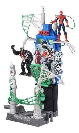 Игровой набор marvel человек паук большой набор паутинный город b7198