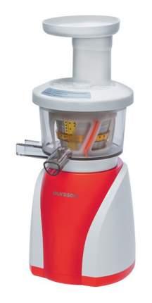Соковыжималка шнековая Oursson JM8002/RD white/red