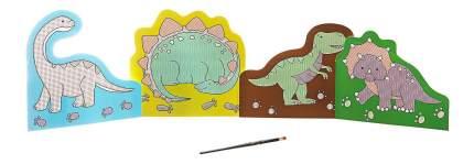 Набор для творчества Bondibon водная раскраска ( динозавры )