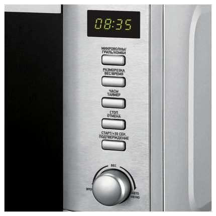 Микроволновая печь с грилем BBK 20MWG-730T/BX silver