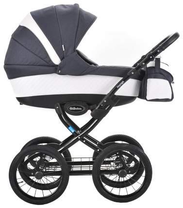Коляска детская Mr Sandman Voyage Premium Белый, темно-синий CH11