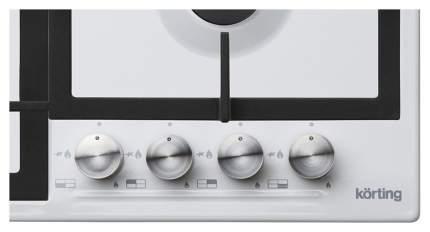 Встраиваемая варочная панель газовая Korting HG 665 CTW White