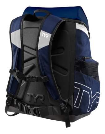 Рюкзак для плавания TYR Alliance LATBP45 45 л синий/белый/черный (112)
