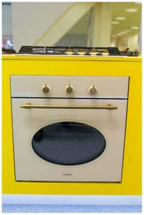 Встраиваемый газовый духовой шкаф MAUNFELD MGOGG.673RIB.TM Beige