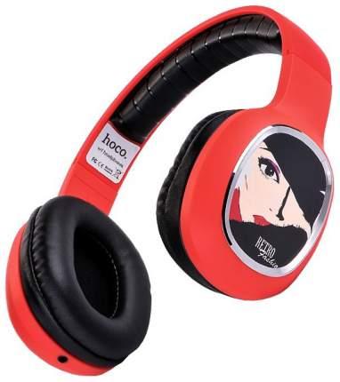 Наушники Hoco W1 Headphone Charming Queen Red