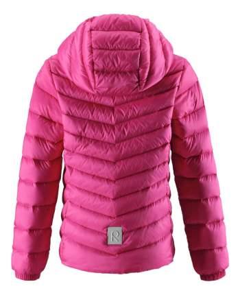 Куртка Reima пуховая для девочки Fern розовая 164 размер