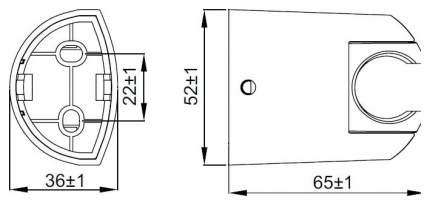 Душевые держатели IDDIS 020CP00I53