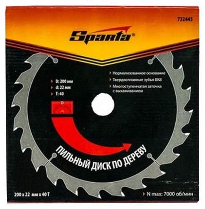 Пильный диск SPARTA 732445