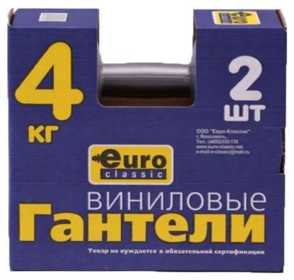 Пара гантелей Euroclassic 2 шт. по 2 кг