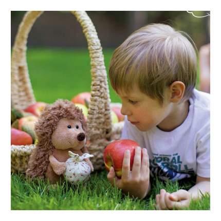 Мягкая игрушка Orange Toys Ежик Колюнчик с узелочком 26 см коричневый