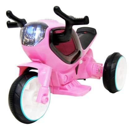 Детский мотоцикл Moto розовый RIVERTOYS HC-1388-PINK