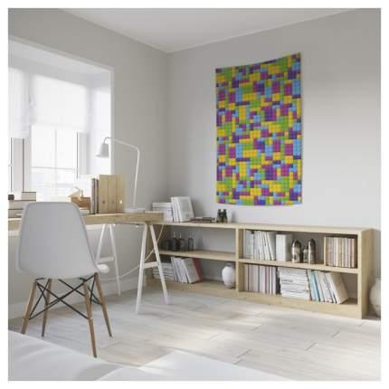 Постер из ткани вертикальный «Красочное лего» JoyArty tp_17962