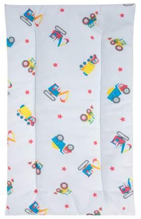 Комплект в коляску Leader Kids «Рабочий транспорт» GL000603603, бязь, Синий