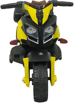 Электромотоцикл Be2Me двухколесный желтый