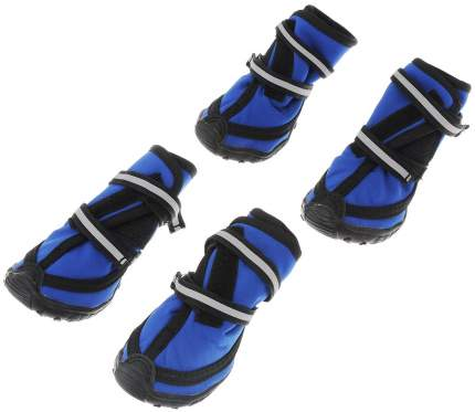 Сапоги для собак Triol, сине-черные, XS, 4 шт.