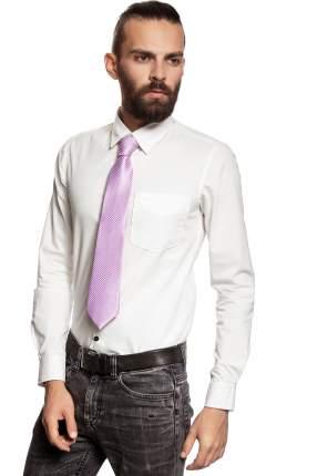 Классический галстук Колеса Фортуны в диагональную полоску Signature 204368 фиолетовый