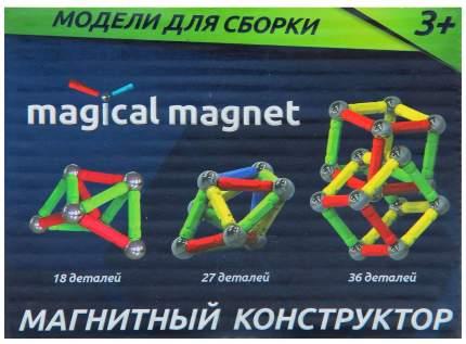 Магнитный конструктор, 18 деталей Sima-Land
