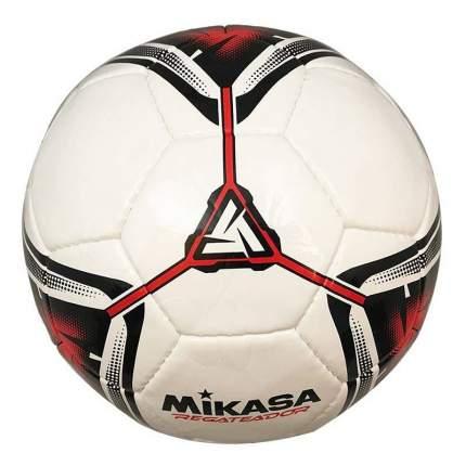 Футбольный мяч Mikasa Regateador №5 white/red/black