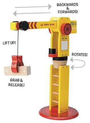 Строительная техника Le Toy Van Подъемный кран