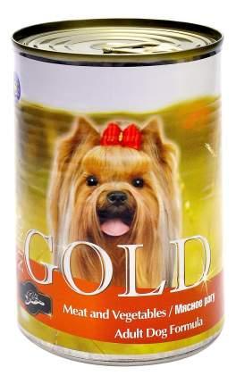 Консервы для собак NERO GOLD Adult Dog Formula, мясное рагу, 1250г