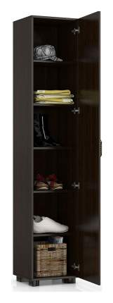 Платяной шкаф Компасс-мебель Монблан МБ-3 KOM_MB3_2 40x35x200, венге