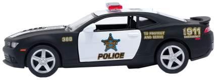 Машина инерционная Kinsmart Chevrolet Camaro Police, масштаб 1:38, открываются двери