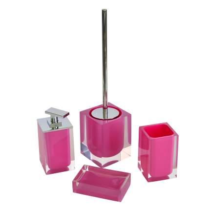 Мыльница Colours розовый