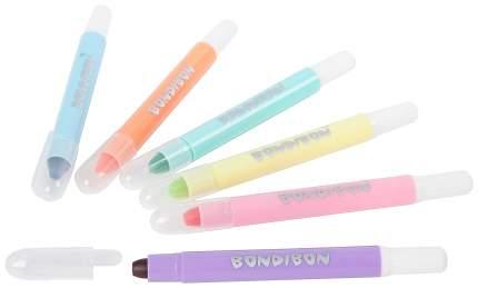 Карандаши цветные художественные Bondibon ВВ2238 6 шт