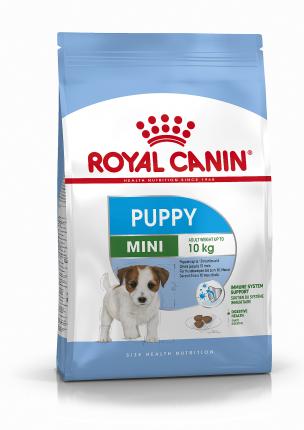 Сухой корм для щенков ROYAL CANIN Puppy Mini, птица, рис, 0.8кг