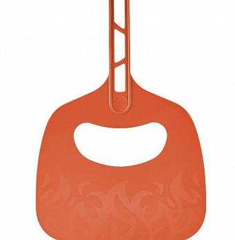 Веер для раздува мангала, цвет: оранжевый