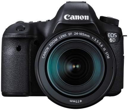Фотоаппарат зеркальный Canon EOS 6D WG Kit 24-105 IS STM Black