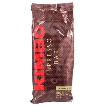 Кофе в зернах Kimbo espresso bar superior blend 1000 г