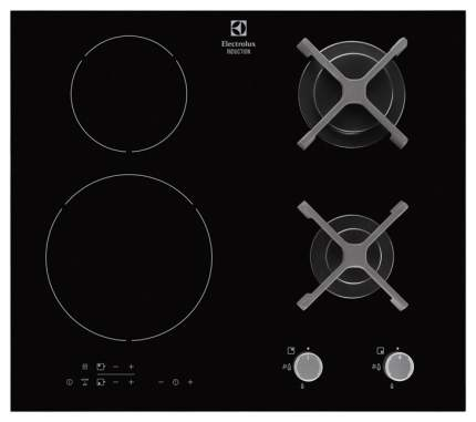 Встраиваемая варочная панель комбинированная Electrolux EGD6576NOK Black