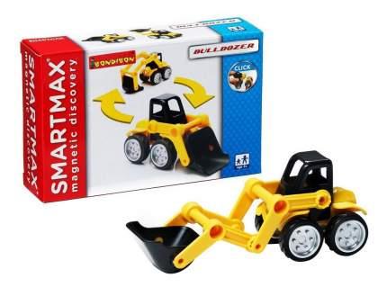 Магнитный конструктор smartmax/ Bondibon специальный (special) набор: бульдозер