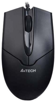 Проводная мышка A4Tech V-Track Padless OP-550NU Black