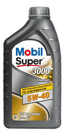 Масло моторное Mobil SUPER 3000 X1 Diesel 5W-40 1 л