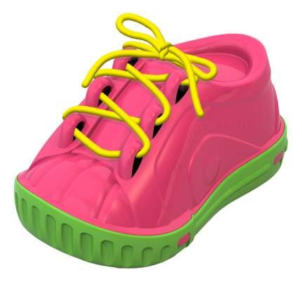 Дидактическая игрушка ботинок-шнуровка в ассортименте