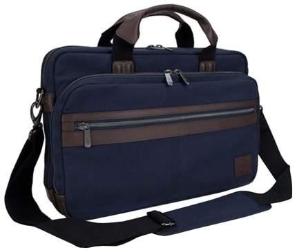 """Сумка для ноутбука 15.6"""" Dell Canvas Topload Bag синяя"""