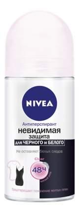 Антиперспирант Nivea Ролик женский Клер Невидимая защита для черного и белого 50мл