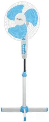 Вентилятор напольный Scarlett SC-SF111B06 white/blue