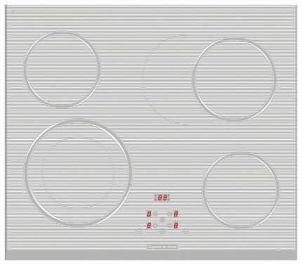 Встраиваемая варочная панель электрическая Zigmund & Shtain CS 159.60 WX White
