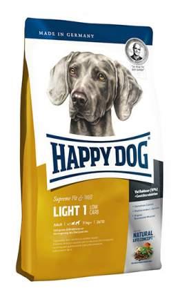 Сухой корм для собак Happy Dog Supreme Fit & Well Light 1, лосось, ягненок,  яйца, 1кг