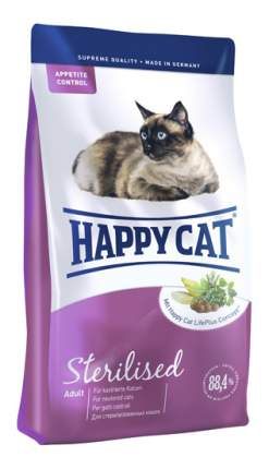 Сухой корм для кошек Happy Cat Fit & Well Sterilised, для стерилизованных, птица, 0,3кг