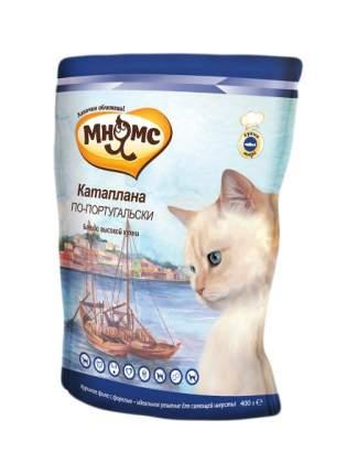 Сухой корм для кошек Мнямс Блюда высокой кухни, Катаплана по-португальски (с форелью),20кг